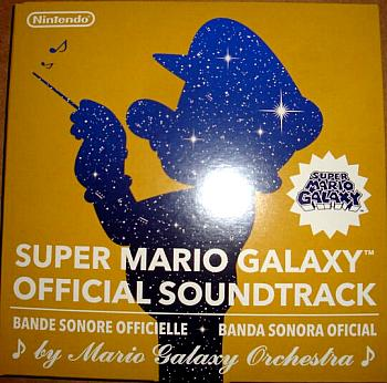 SUPER MARIO GALAXY OFFICIAL SOUNDTRACK. Front. Click to zoom.