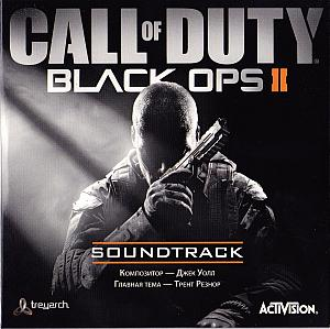 Call of Duty: Black Ops II Soundtrack. Лицевая сторона (Конверт). Click to zoom.