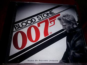 007 Blood Stone Original Video Game Soundtrack. Case Front. Click to zoom.