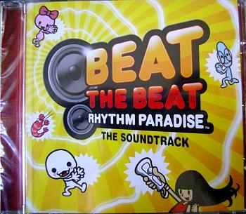 Beat the Beat: Rhythm Paradise The Soundtrack. Case Front. Click to zoom.