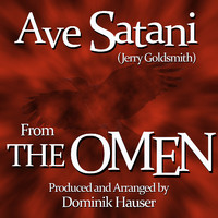 "Ave Satani Theme from the 1976 Motion Picture score for ""the Omen"" - Single. Передняя обложка. Click to zoom."
