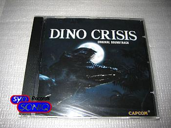 Dino Crisis Original Soundtrack. Case Front. Click to zoom.