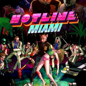 Hotline Miami. Буклет. Click to zoom.