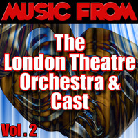 Music from the London Theatre Orchestra & Cast, Vol. 2. Передняя обложка. Click to zoom.