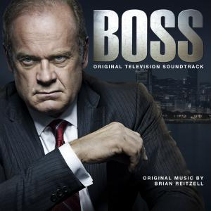 Boss Original Television Soundtrack. Лицевая сторона . Click to zoom.