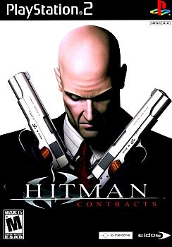 Hitman: Contracts Game Rip. Лицевая сторона. Click to zoom.