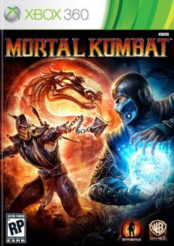 Mortal Kombat 9 (Xbox 360) Game Rip. Лицевая сторона . Click to zoom.