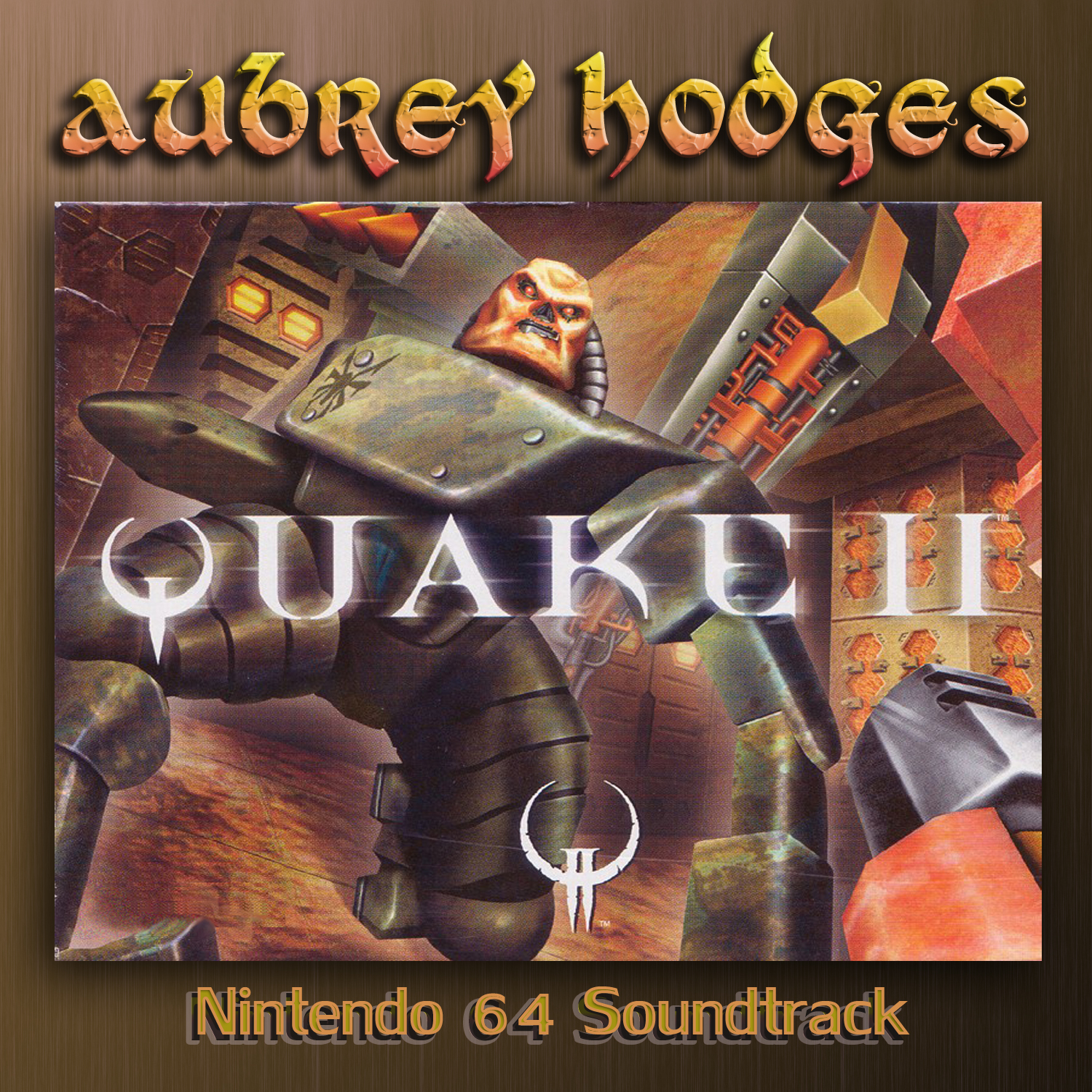 Quake 2 - Nintendo 64: Official Soundtrack. Front. Click to zoom.