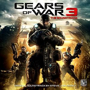 Gears Of War 3 The Soundtrack. Лицевая сторона . Click to zoom.