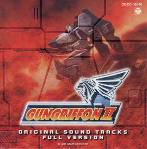 GUNGRIFFON II ORIGINAL SOUND TRACKS FULL VERSION. Booklet Front. Click to zoom.