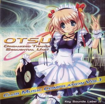 OTSU Club Music Compilation Vol. 1. Booklet Front. Click to zoom.