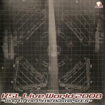 KSL Live World 2008 ~Way to the Little Busters! EX~. Booklet Front. Click to zoom.