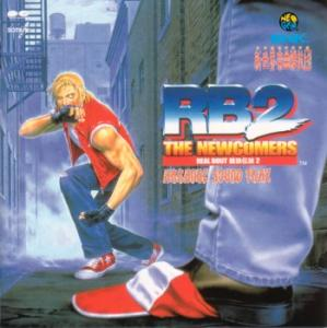 REAL BOUT Garou Densetsu 2 ~ RB2 THE NEWCOMERS Arrange Sound Trax. Front. Click to zoom.