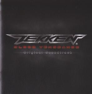 Tekken Blood Vengeance Original Soundtrack. Booklet Front. Click to zoom.