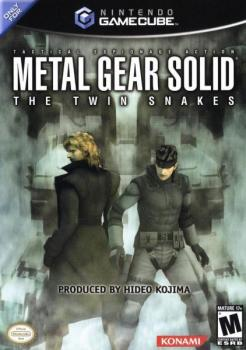 Metal Gear Solid: The Twin Snakes. Передняя обложка . Click to zoom.