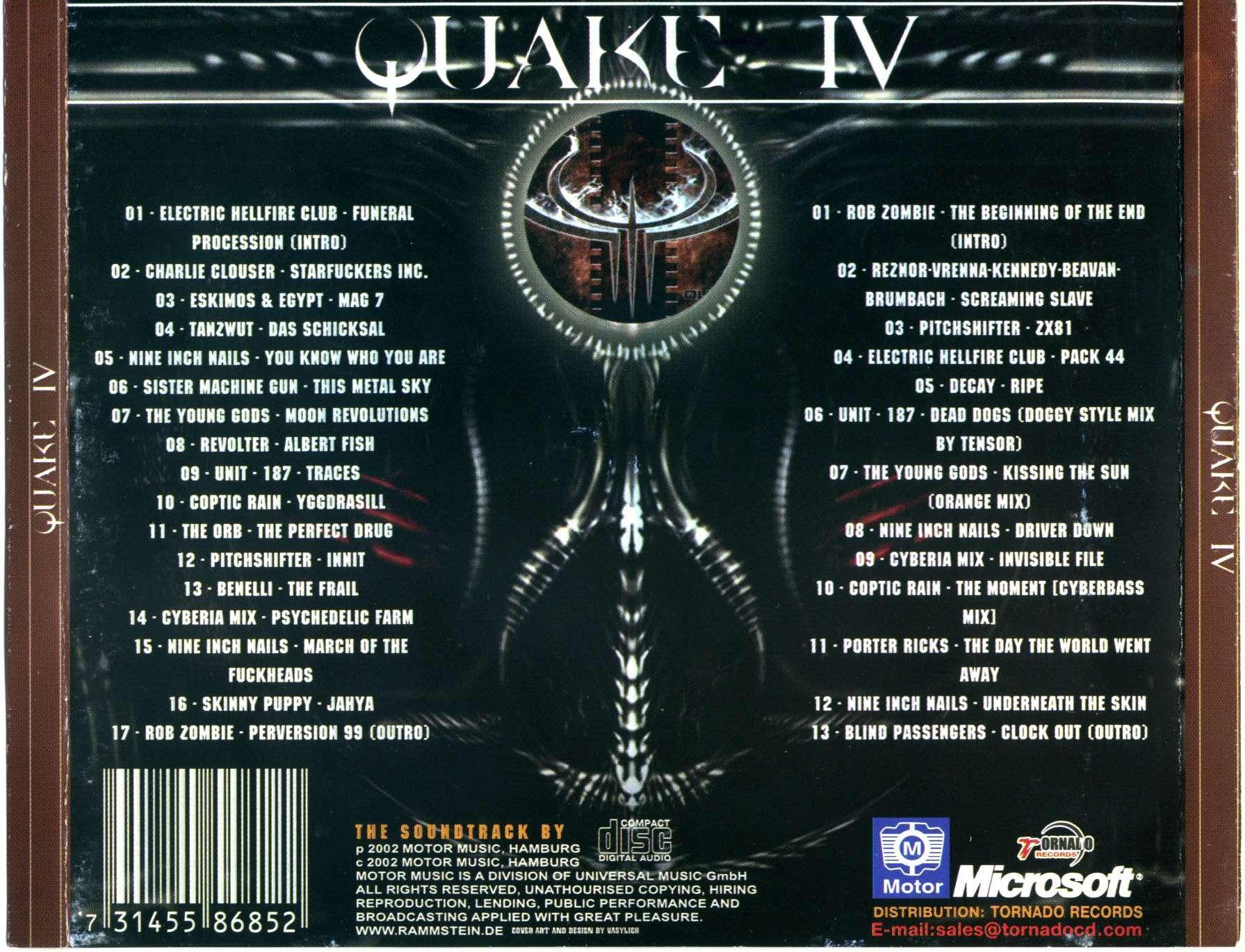Quake IV - Soundtrack For a Video Game  Soundtrack from