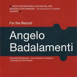 For the Record: Angelo Badalamenti. Передняя обложка . Click to zoom.