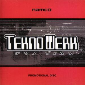 Namco TeknoWerk Promotional Disc. Front. Click to zoom.