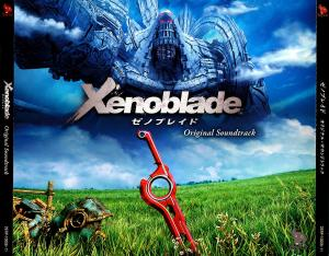 Xenoblade Original Soundtrack. Front. Click to zoom.