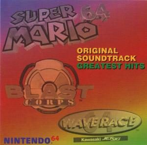 Nintendo 64 Original Soundtrack Greatest Hits. Front. Click to zoom.