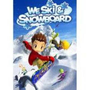We Ski & Snowboard Original Soundtrack. Front (small). Click to zoom.