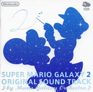 Super Mario Galaxy 2 Original Sound Track. Booklet Front. Click to zoom.