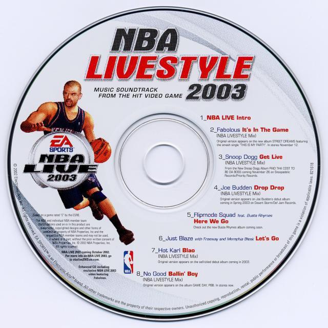 Nba Livestyle 2003 Soundtrack From Nba Livestyle 2003
