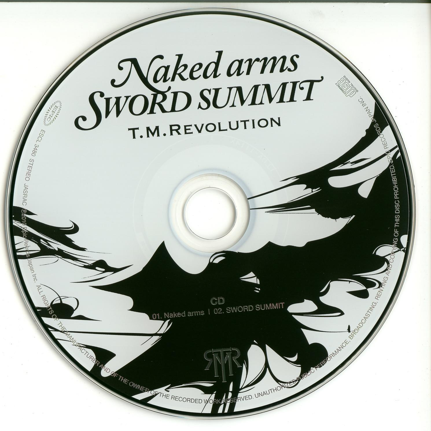 Review: 23° Single do T.M.Revolution Naked Arms / Sword