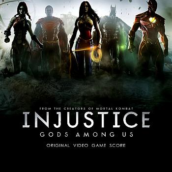 Injustice: Gods Among Us Original Video Game Score. Front. Click to zoom.