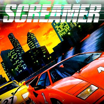 Screamer Soundtrack. Front. Click to zoom.