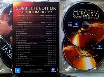 Might & Magic Heroes VI Complete Edition Soundtrack. Contents. Click to zoom.