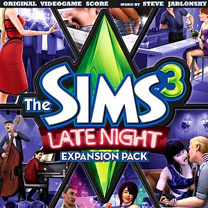 Sims 3: Late Night Original Videogame Score, The. Лицевая сторона . Click to zoom.