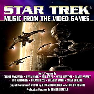 STAR TREK: MUSIC FROM THE VIDEO GAMES. Лицевая сторона. Click to zoom.