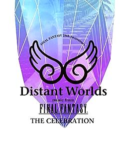 Distant Worlds music from FINAL FANTASY THE CELEBRATION. Лицевая сторона. Click to zoom.