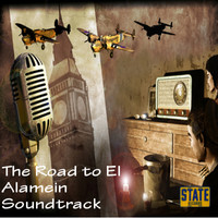 Road to El Alamein Original Motion Picture Soundtrack, The. Передняя обложка. Click to zoom.