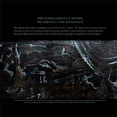 V Album Cover Skyrim Original Soundtrack. Soundtrack from The Elder Scrolls V ...