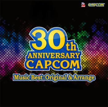 30th ANNIVERSARY CAPCOM Music Best:Original & Arrange. Front (small). Click to zoom.