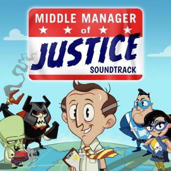 Middle Manager of Justice Soundtrack. Front. Click to zoom.