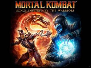 Mortal Kombat: Songs Inspired by the Warriors. Лицевая сторона . Click to zoom.