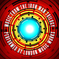 Music from the Iron Man Trilogy. Передняя обложка. Click to zoom.