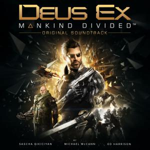 Deus Ex: Mankind Divided Original Soundtrack. Лицевая сторона . Click to zoom.