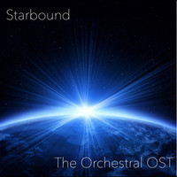 Starbound: The Orchestral OST. Передняя обложка. Click to zoom.