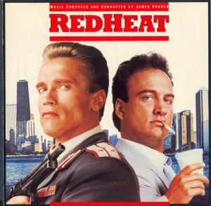 Red Heat Original Motion Picture Soundtrack. Лицевая сторона. Click to zoom.