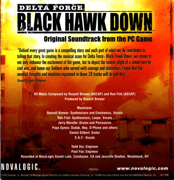 Black hawk down (2001) still (soundtrack ost) youtube.