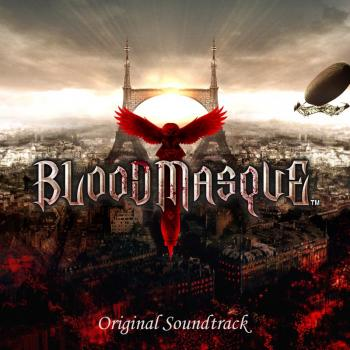 BLOODMASQUE Original Soundtrack. Front. Click to zoom.