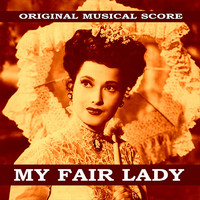 My Fair Lady Original Musical Score. Передняя обложка. Click to zoom.