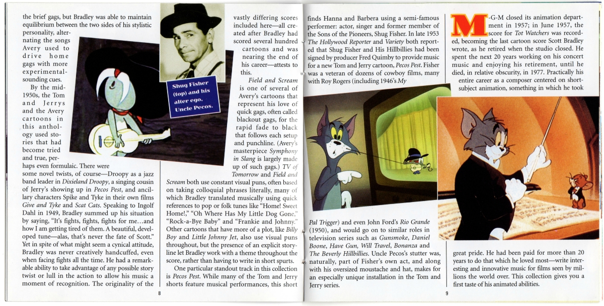 Tom and Jerry & Tex Avery Too! — Volume 1: The 1950s