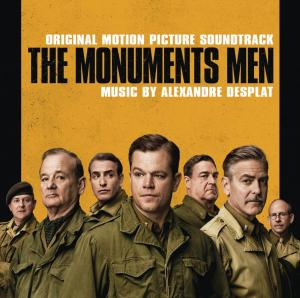 Monuments Men Original Motion Picture Soundtrack, The. Лицевая сторона. Click to zoom.