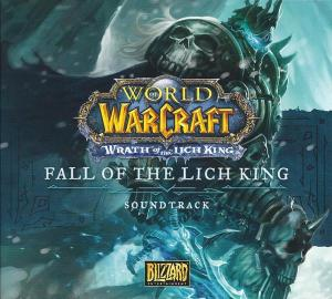 World of Warcraft: Wrath of the Lich King - Fall of the Lich King Soundtrack. Front. Click to zoom.