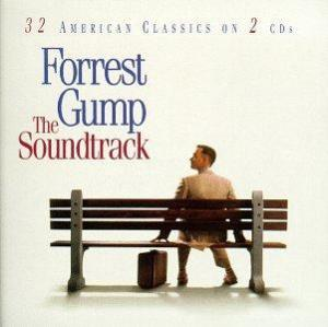 Forrest Gump: The Soundtrack - 32 American Classics On 2 CDs. Лицевая сторона. Click to zoom.